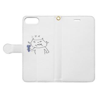 ネコさん Book-style smartphone case