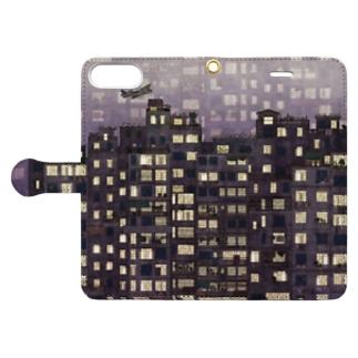 九龍城砦 Book-style smartphone case