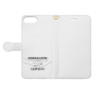 仏印h.t.(法界定印) Book-style smartphone case