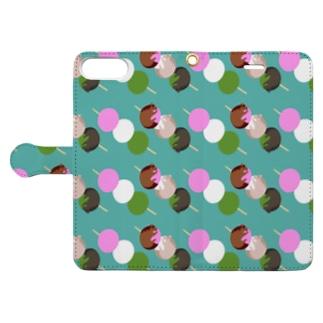 三色団子 Book-style smartphone case