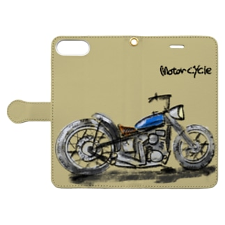 Motorcycle   Book-style smartphone case
