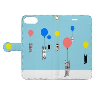ベタですみません。風船 Book-style smartphone case