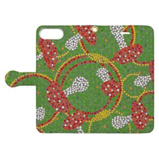 DOT..KINOKO Book-style smartphone case