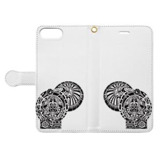 ジョンソン Book-style smartphone case