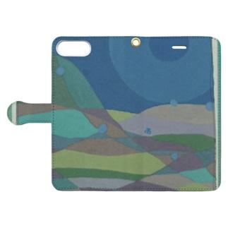 雨 Book-style smartphone case