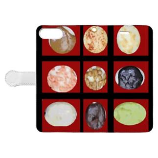 宮城の餅色々 Book-style smartphone case