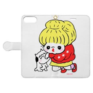 バアバちゃん Book-style smartphone case