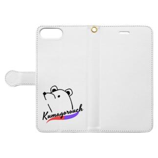くまごろうシリーズ Book-style smartphone case