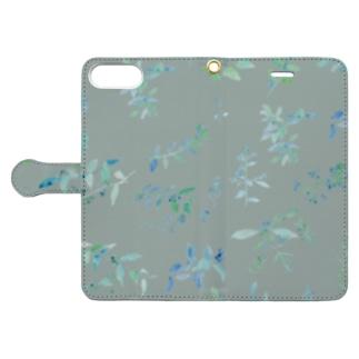 春を待つ green Book-style smartphone case
