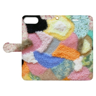 moss rug printing case 1 Book-style smartphone case