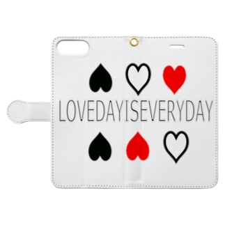 LOVE DAY  Book-style smartphone case