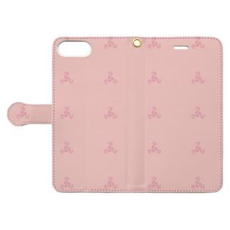 222pinkA Book-style smartphone case