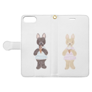twins Book-style smartphone case