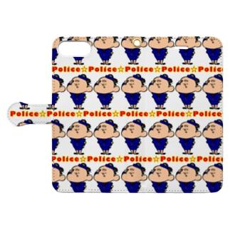 Police Book-style smartphone case