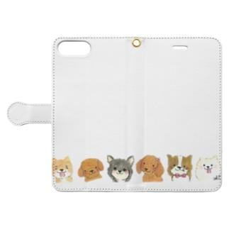 オンリーわん Book-style smartphone case