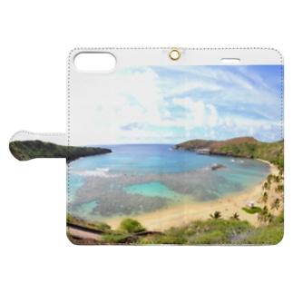 ハナウマ湾 Book-style smartphone case