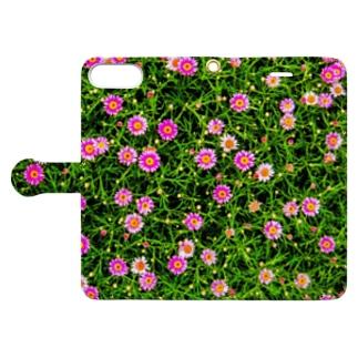 小さなマーガレット Book-style smartphone case