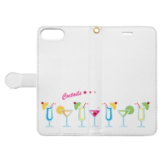 cocktails Book-style smartphone case