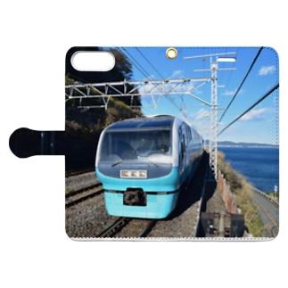 egpuromasaの鉄道(夏) Book-Style Smartphone Caseを開いた場合(外側)