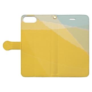 サバクとソラ Book-style smartphone case