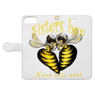sisters bee 解 Book-style smartphone case