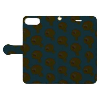 ぞんびのうずいさん Book-style smartphone case
