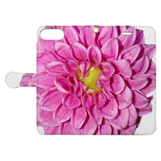 Dahlia Book-style smartphone case