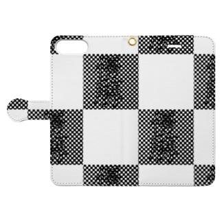 チェッカーフラッグ??? Book-Style Smartphone Case