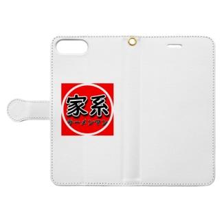 家系ラーメンマン Book-Style Smartphone Case