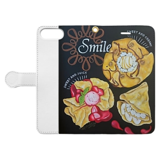 smile baby Book style smartphone case