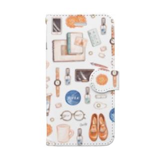 日々のもの 〜朝日〜 Book-style smartphone case