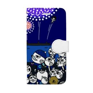 ペンネコッコ(花火師) Book-style smartphone case