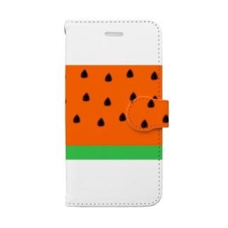 SuikaLINE Book-style smartphone case