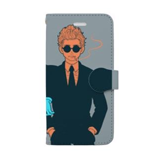 BLACK BOYS Book-style smartphone case