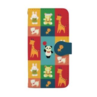 あにまるスマホケース Book-style smartphone case