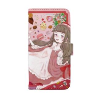 雛凪ちゃん Book-style smartphone case