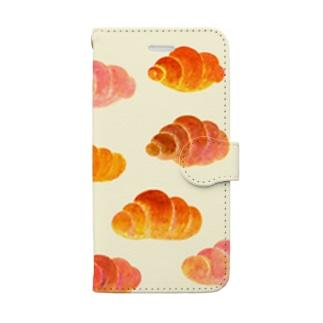 空飛ぶロールパン Book-style smartphone case