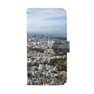 風景 Book-style smartphone case