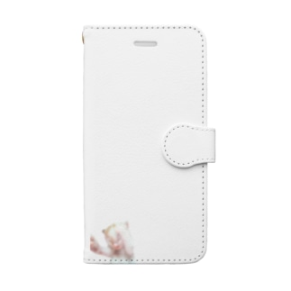 ベビーシロポンシリーズ Book-style smartphone case