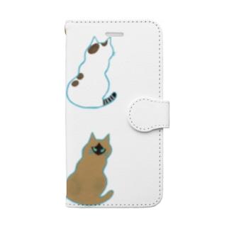 よんひきのねこ Book-style smartphone case