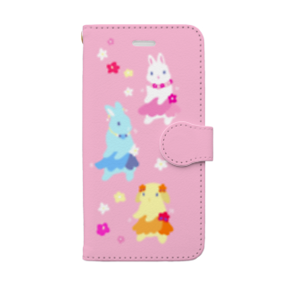 大賀一五の店のフラバニーズ Book-style smartphone case