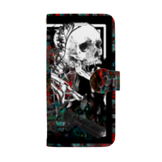 OctayuのNo.3(iPhone 6s/6/8/7) Book-style smartphone case