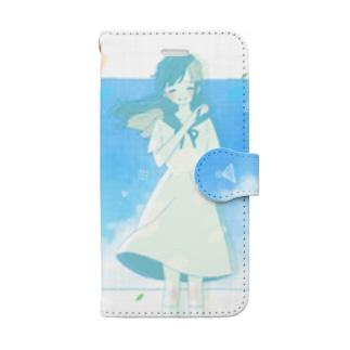 或る恋文 Book-style smartphone case