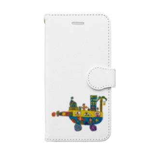 みらいのふね Book-style smartphone case
