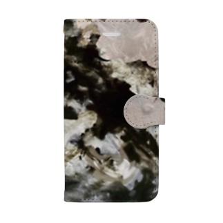 「混沌と闇 」 Marble Book-style smartphone case