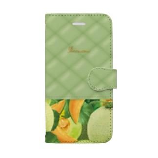 【forseason】メロン Book-style smartphone case