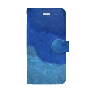 BENの「開眼」 Japanese marble Book-style smartphone case