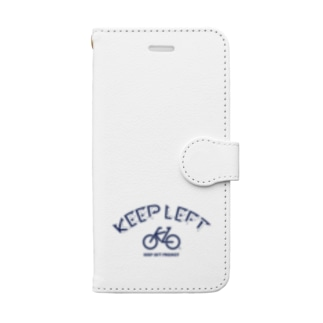 KEEP LEFT BW Book-style smartphone case