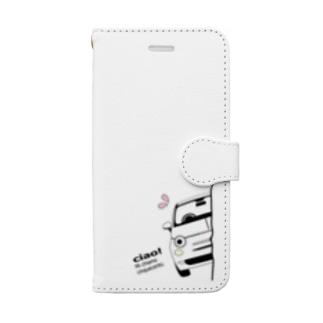 MYひょっこりちん ゆゆかiphone Book-style smartphone case