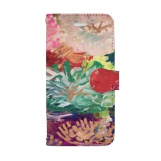 パパラチア(蓮の花) Book-style smartphone case